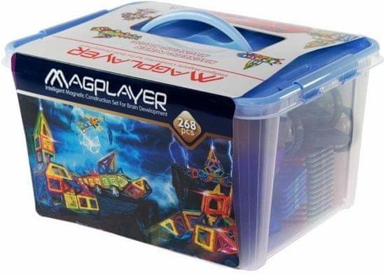 MAGPLAYER Magplayer magnetická stavebnice 268 ks