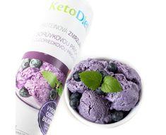 KetoDiet Proteinová zmrzlina s borůvkovou příchutí (20 porcí)