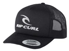 Rip Curl férfi fekete trucker siltes sapka The Surfing Company Cap