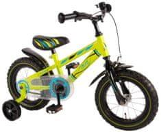 """Volare Detský bicykel pre chlapcov , Electric Green ,,12"""" - zelený"""