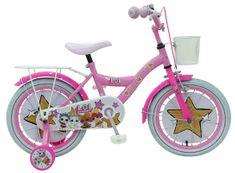 """Volare VOLARE - Detský bicykel pre dievčatá, LOL Surprise ,,16"""" - ružový"""
