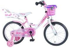 """Volare VOLARE - Detský bicykel pre dievčatá, Rose ,,16"""" - ružový"""