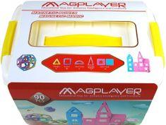 MAGPLAYER Magplayer magnetická stavebnice 90 ks