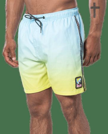 Rip Curl férfi fürdő rövidnadrág Native Surf 16'' Volley, M, kék