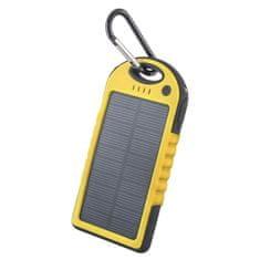 Forever GSM011226 Bank energii słonecznej 5000 mAh STB-200 żółty