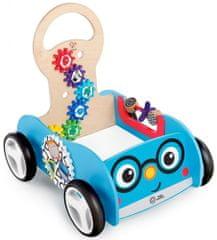 Baby Einstein drewniana zabawka aktywny pojazd Discovery Buggy HAPE 12m+