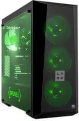 LYNX Grunex Gamer AMD 2020, čierna (10462595)