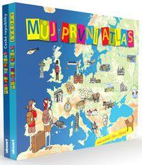 Vít Štěpánek: Můj první atlas - Můj první atlas České republiky a Můj první atlas Evropy