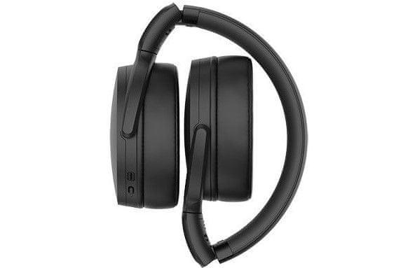 Bluetooth Top Slušalke sennheiser hd350bt pametni način upravljanja podcast gumbi za upravljanje 300-milimetrskega li-pol baterijskega mikrofona za prostoročno uporabo 30h za polnjenje udobnega kakovostnega zvoka 32-milimetrski gonilniki pasivna izolacija pred hrupom aptx kodek
