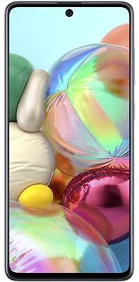 Samsung Galaxy A71, Super AMOLED Infinity-O bezrámečkový displej, veľký, Full HD+, vysoké rozlíšenie displeja.