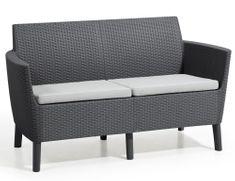 KETER Kanapa SALEMO 2 seater sofa grafit