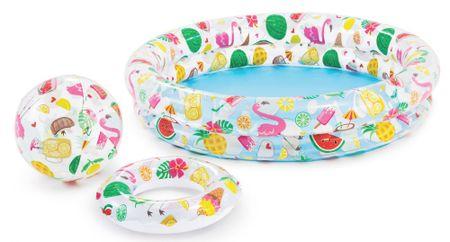 Intex 59460 Fruity set (basen+piłka+koło)