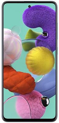 Samsung Galaxy A51, Super AMOLED Infinity-O bezrámečkový displej, veľký, Full HD+, vysoké rozlíšenie displeja.