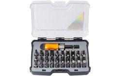 Tactix Sada bitů v plastovém boxu, 31 ks - TC418130 | Tactix