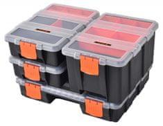 Tactix Sada organizérov na drobný materiál, 4 ks - TC320020