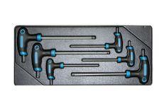 AHProfi Sada T klíčů IMBUS ve výplni dílenského vozíku, 6 dílů - VV006TI01 | AHProfi
