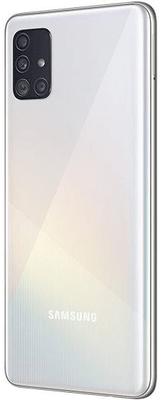 Samsung Galaxy A51, czytnik linii papilarnych na ekranie, bezpieczeństwo, komfort, odblokowywanie odciskiem palca.
