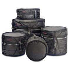 Stagg Sada pouzder na bubny , 5ks, nylonové, černé