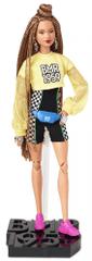 Mattel Barbie BMR1959 Barbie baba rövidnadrágban, divatos delux övtáskával
