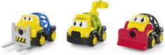 Oball Go Grippers™ játékautók, építészflotta, 3 db, 18 hó+