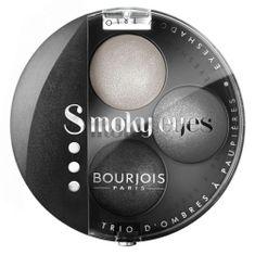 Bourjois Paris Oční stíny Bourjois, Odstín 01 Gris Dandy, Smoky Eyes, 4.5 g