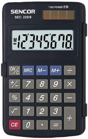 SENCOR kalkulator SEC 229/8