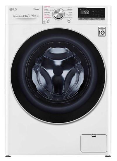 LG F4DV709H1 + 10 rokov záruka na invertorový motor + darček sada domácich prostriedkov Jelen
