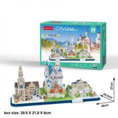 CubicFun Cityline - BavariaI 3D 178 dielikov