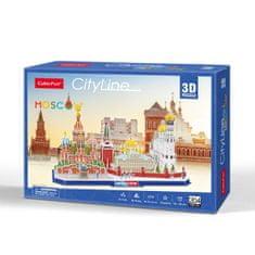 CubicFun Cityline - Moskau 3D 204 dielikov