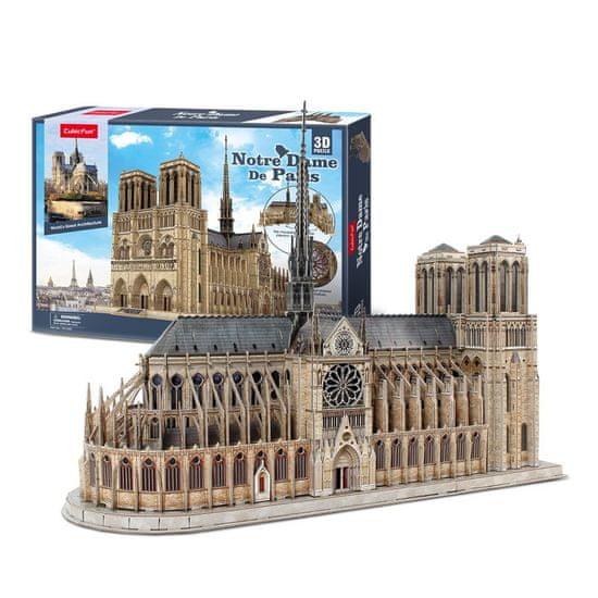 CubicFun Notre Dame 3D 293 dielikov