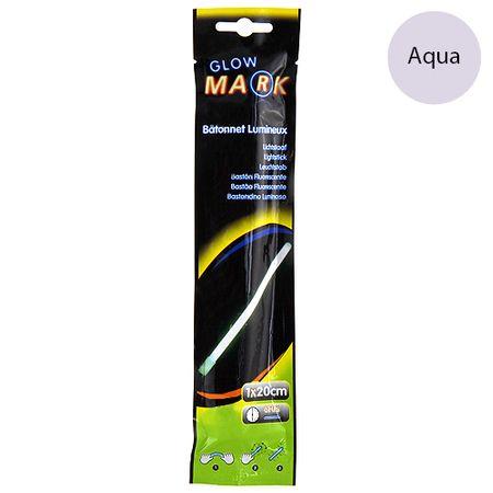 Glow Mark Világító csík, 20x1cm, világoskék