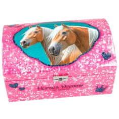 Horses Dreams Šperkovnice , Best friends, růžová