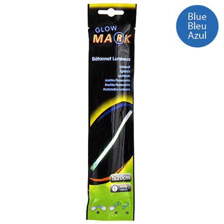 Glow Mark Világító csík, 20x1cm, kék