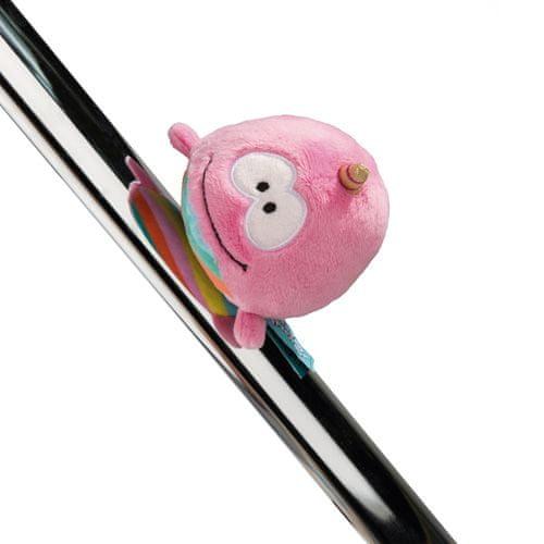 NICI Plyšová magnetka , Rainbow Bubble, 12 cm