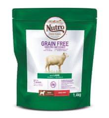 Nutro Grain Free granule s jahňacím pre dospelých psov malých plemien 1,4 kg