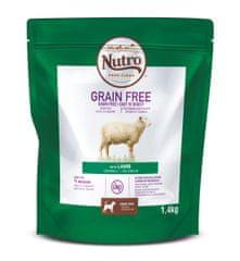 Nutro Grain Free granule s jahňacím pre dospelých psov 1,4 kg