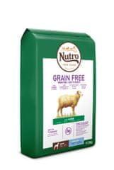 Nutro Grain Free granule s jahňacím pre dospelých psov veľkých plemien 11,5 kg