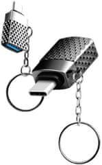 Viking Redukce USB-C 3.0 na USB-A 3.1 VUSBC3S, stříbrná
