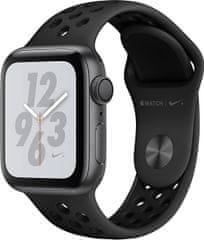 Apple Watch Nike+ 40mm vesmírně šedý hliník s antracitovým/černým Nike sportovním řemínkem