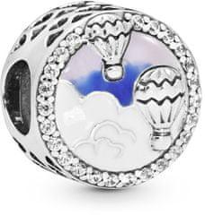 Pandora Ezüst gyöngy hőlégballon utazás 798061CZ ezüst 925/1000
