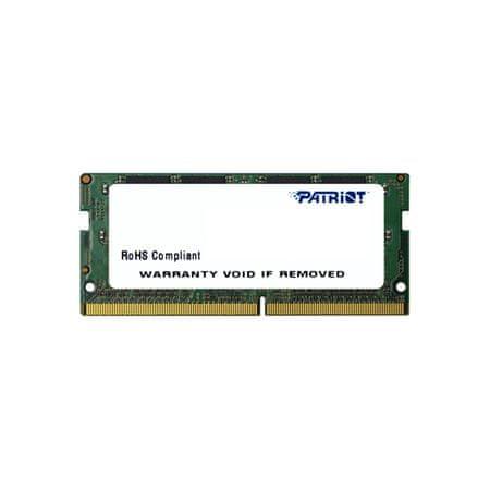 Patriot Signature Line pomnilnik (RAM), 8 GB, DDR4, 2666 MHz SODIMM (PSD48G266681S)