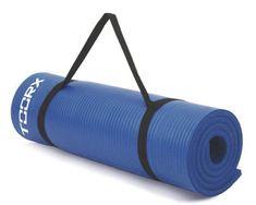 TOORX podloga za fitness, 172 x 61 x 1,2 cm, plava