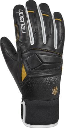 Reusch Lindsey Vonn skijaške rukavice, 7,5, crne/bijele