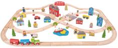 Bigjigs Rail Mesto a dedina 101 dielov