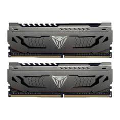 Patriot Viper Steel Kit memorija (RAM), 16 GB (2x8GB), DDR4, 3000 MHz DIMM, CL16 (PVS416G300C6K)