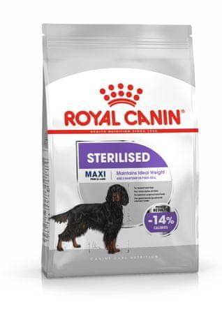 Royal Canin Maxi Sterilised pasji briketi, 3 kg