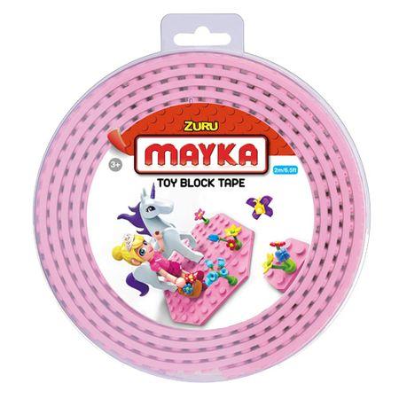 Zuru Lego tape , Mayka, 2 m, rózsaszín