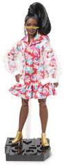 Mattel Barbie BMR1959 Barbie vinyl kabátban, divatos, deluxe