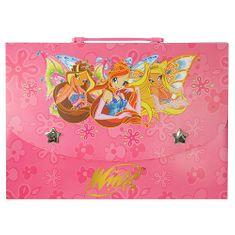 Winx Club Obal na dokumenty L Winx Club, obal na dokumenty L Bloom&Stella&Flora s krídlami
