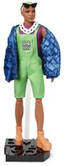 Mattel Barbie BMR1959 Ken zöld hajja, divatos, deluxe